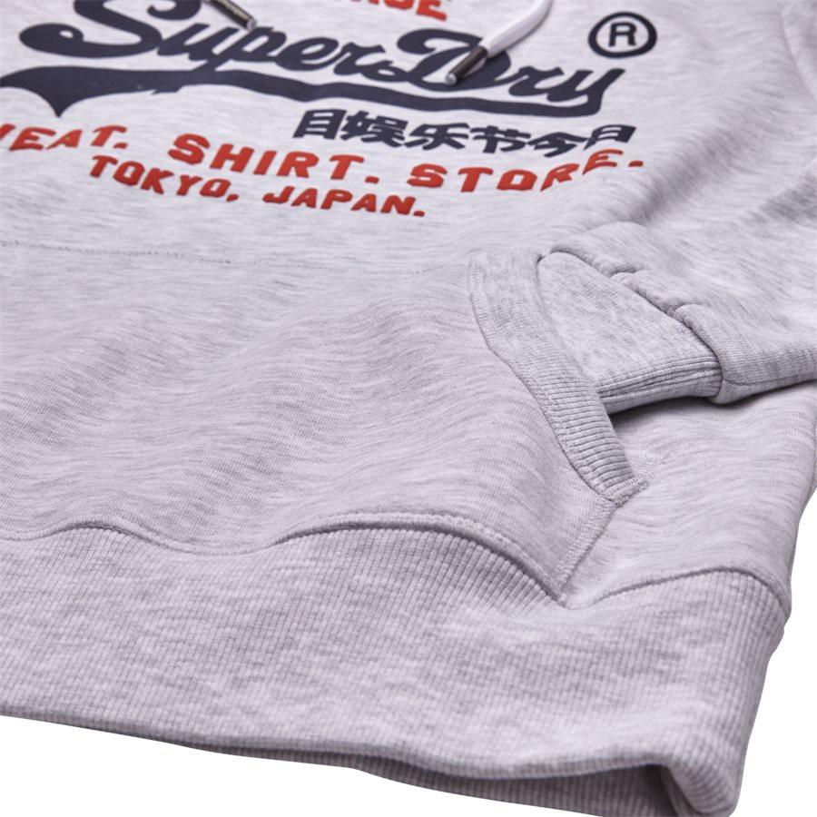 M20004NS - M20004NS Sweatshirt - Sweatshirts - Regular - HVID MELANGE - 4